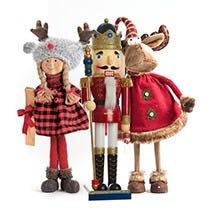 Ángeles navideños y Personajes