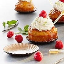 Mini platos para pasteles