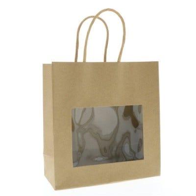 Bolsas con ventanas