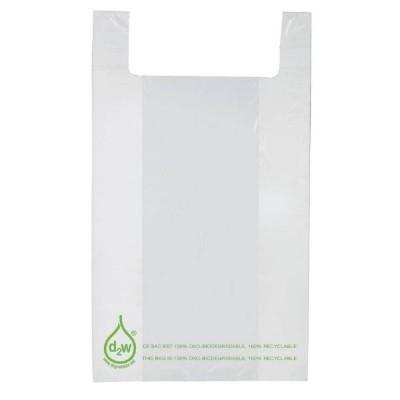 Bolsas de plástico asa camiseta