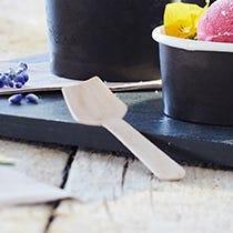 Cucharillas para helado desechables