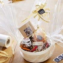 Envoltorio cestas de regalo