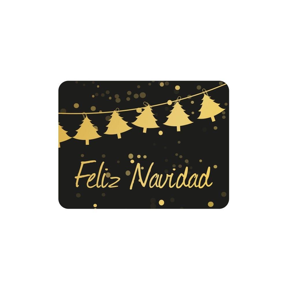Etiquetas Adhesivas Navidad en Castellano
