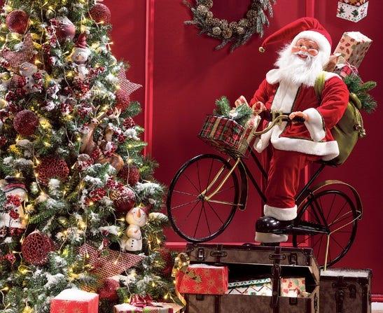 Decorar Escaparate Con Estanterias Para Navidad