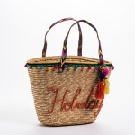 Bolsa playa Holidays 45x14x30 cm multicolor