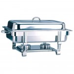 Chafing dish gastronorm 1/1 9 litros acero inoxidable  63x35,5x27,3cm