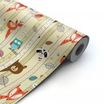 Papel de regalo Animales 70 cm multicolor - 100 metros
