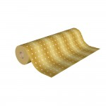 Papel de regalo kraft Pinos 70 cm marrón/blanco - 50 metros