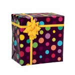 Papel de regalo Pop 70 cm multicolor - 100 metros