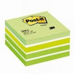 Post-it cubo 7,5x7,5 cm rosa - 450 unidades