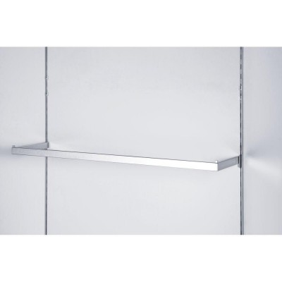 Barra perchero U 30x120 cm cromada-Global