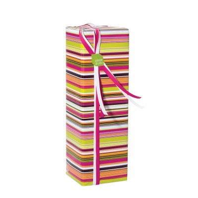 Papel de regalo rayas 70 cm multicolor - 100 metros-Papel de regalo decorado