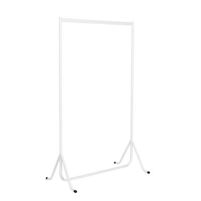 Perchero recto 100x50x150 cm blanco-
