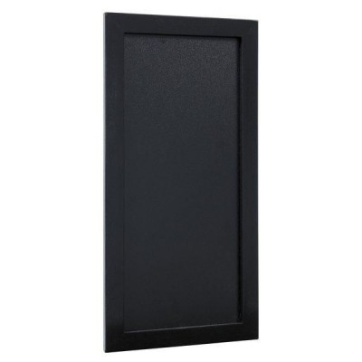 Pizarra pared horizontal/vertical 20x40 cm negra-